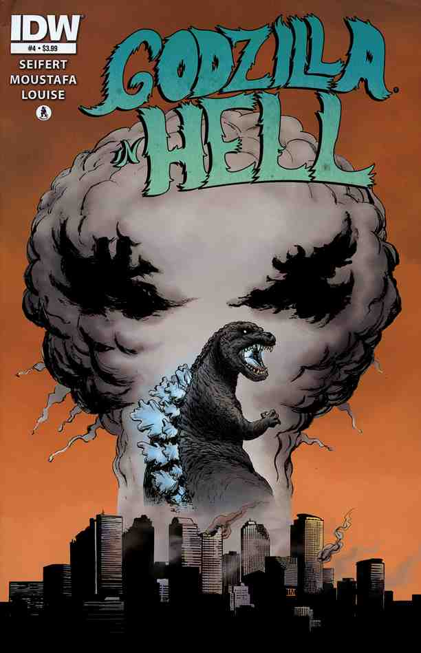 Godzilla In Hell comic issue 4