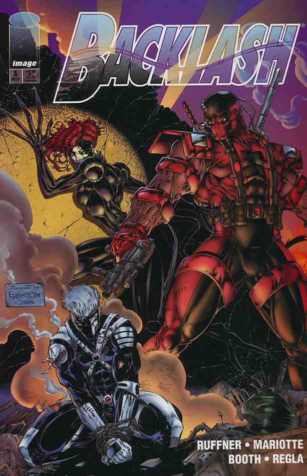 Backlash comic issue 1