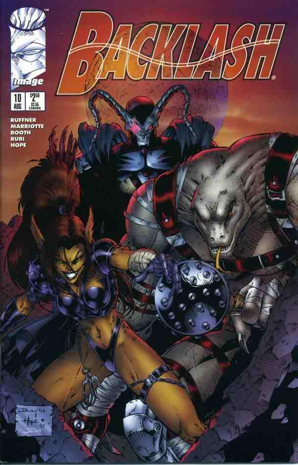 Backlash comic issue 10