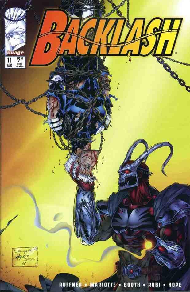 Backlash comic issue 11