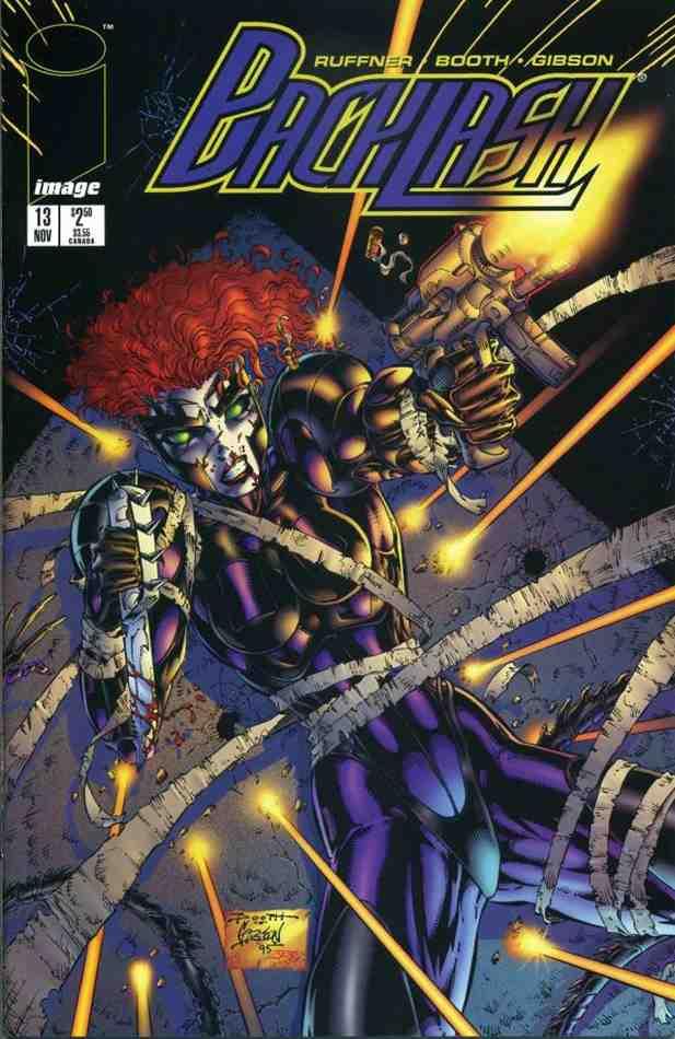 Backlash comic issue 13