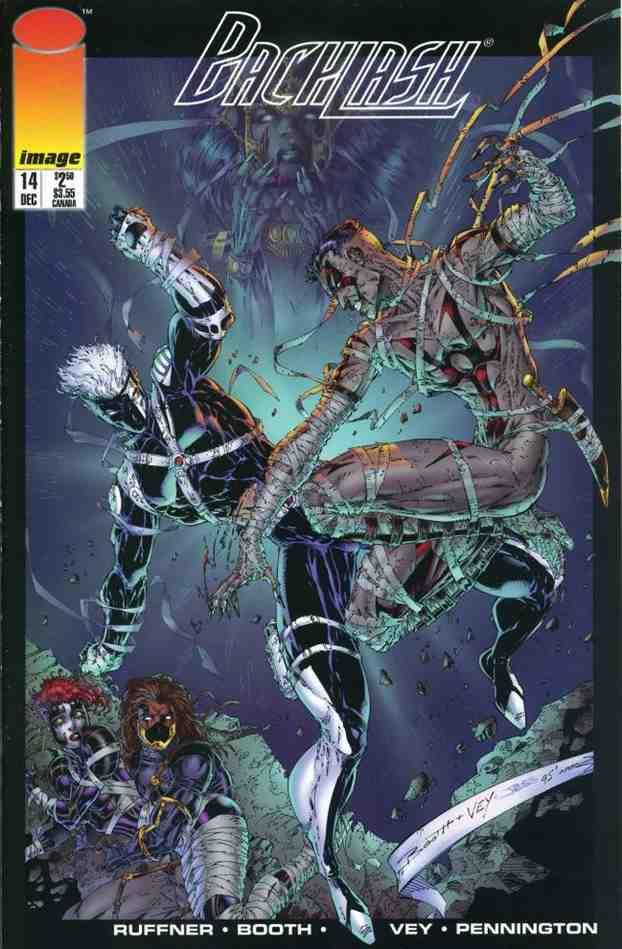 Backlash comic issue 14