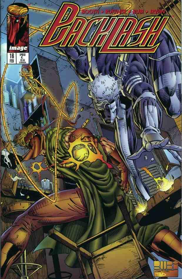 Backlash comic issue 16