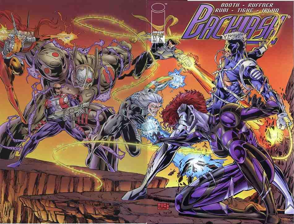 Backlash comic issue 17