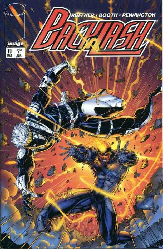 Backlash comic issue 18