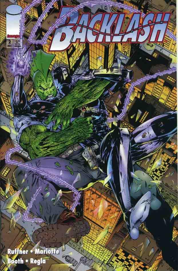 Backlash comic issue 2