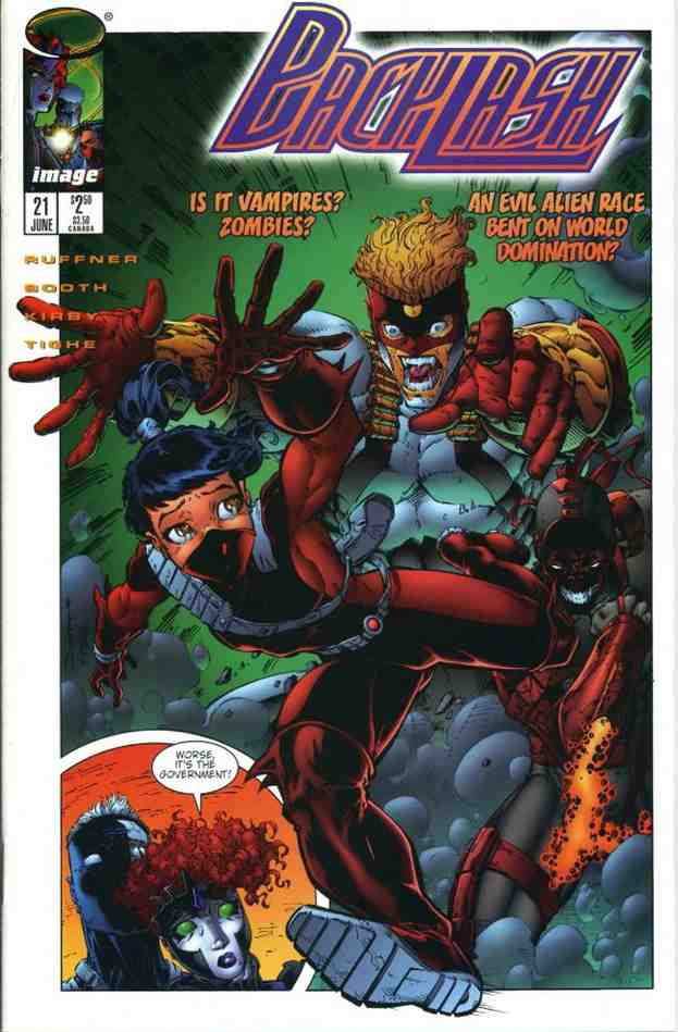 Backlash comic issue 21