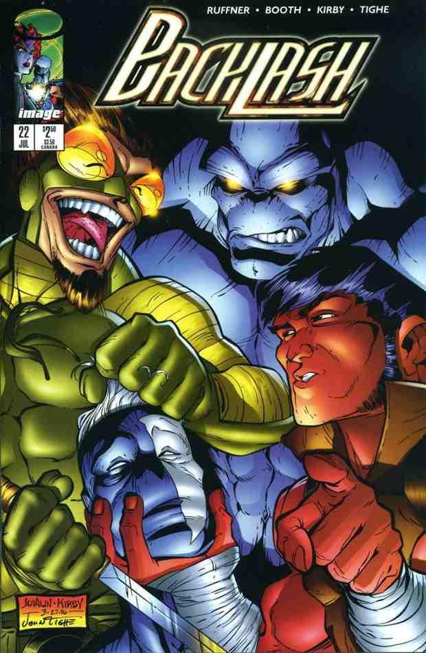 Backlash comic issue 22