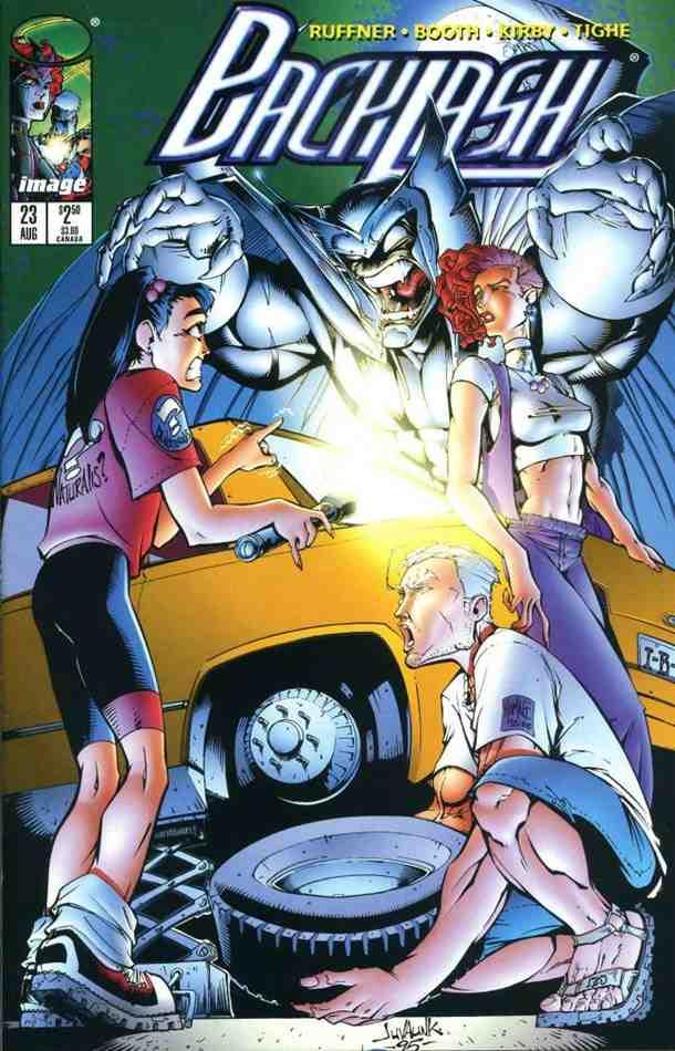Backlash comic issue 23