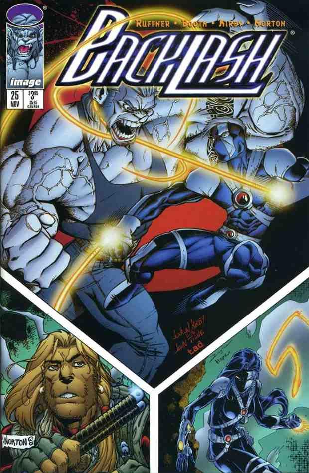 Backlash comic issue 25