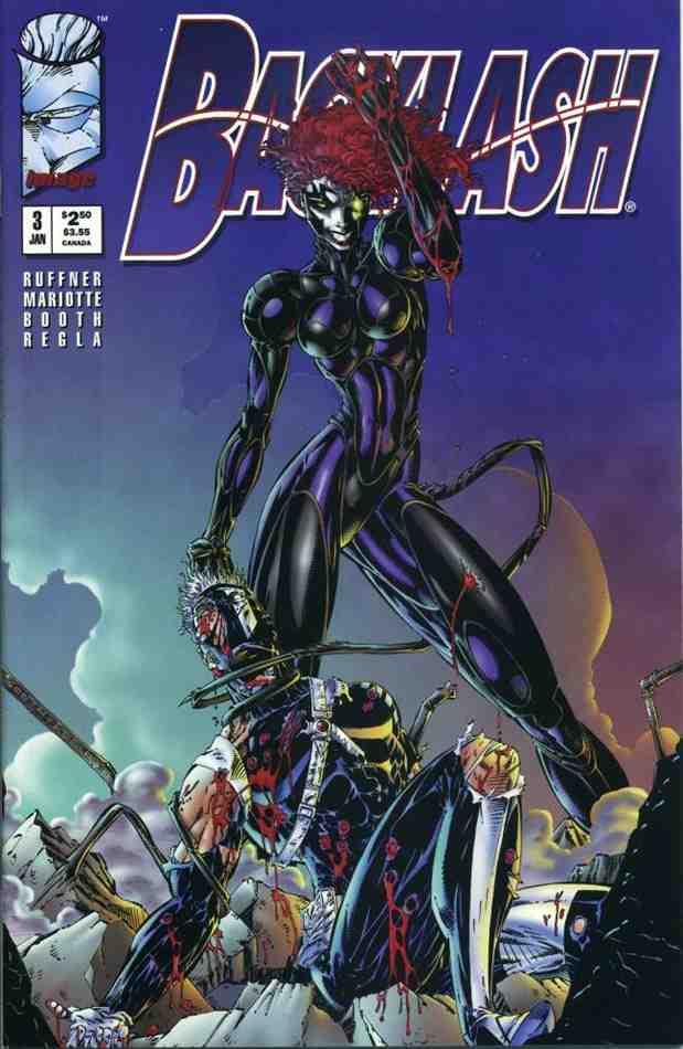 Backlash comic issue 3