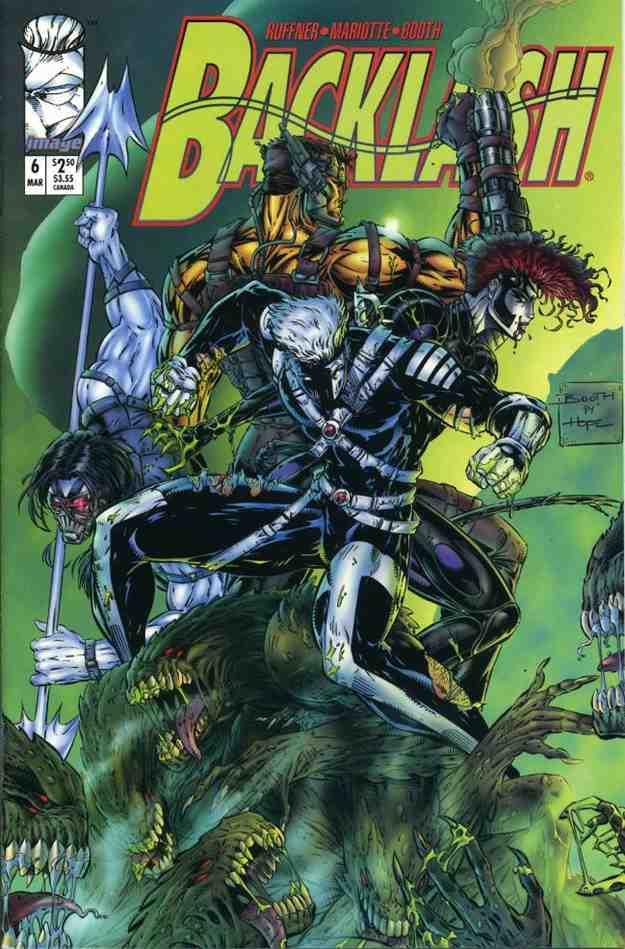 Backlash comic issue 6