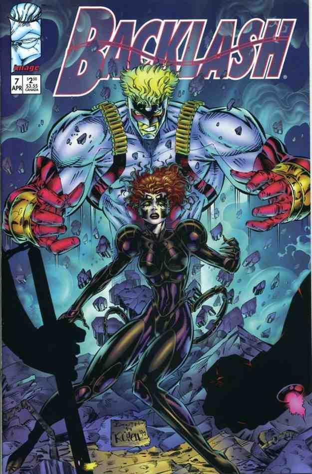Backlash comic issue 7