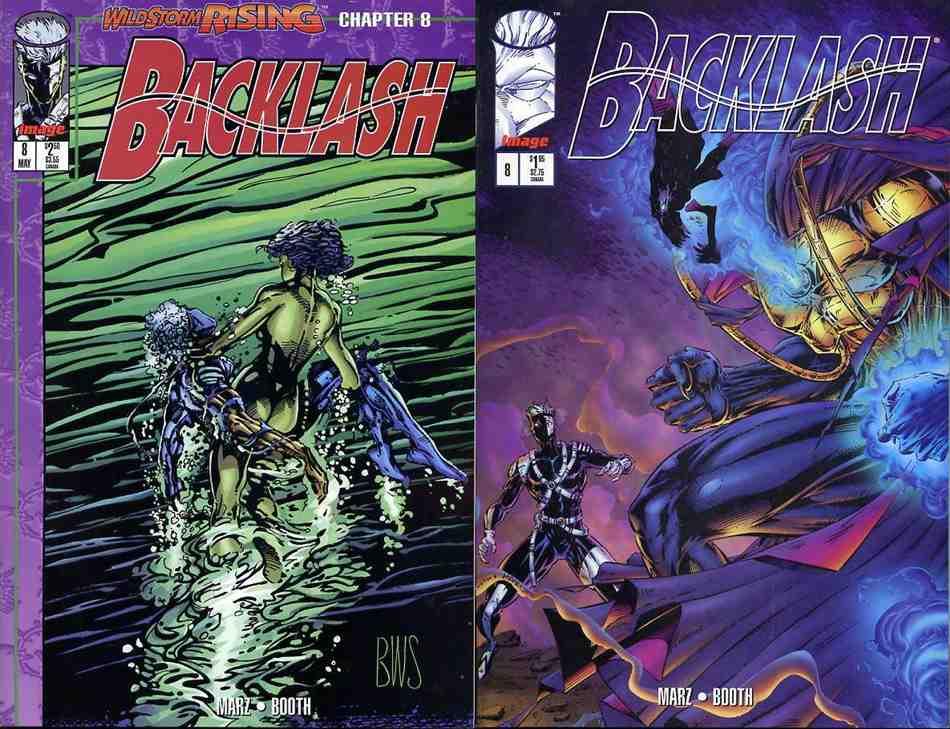 Backlash comic issue 8