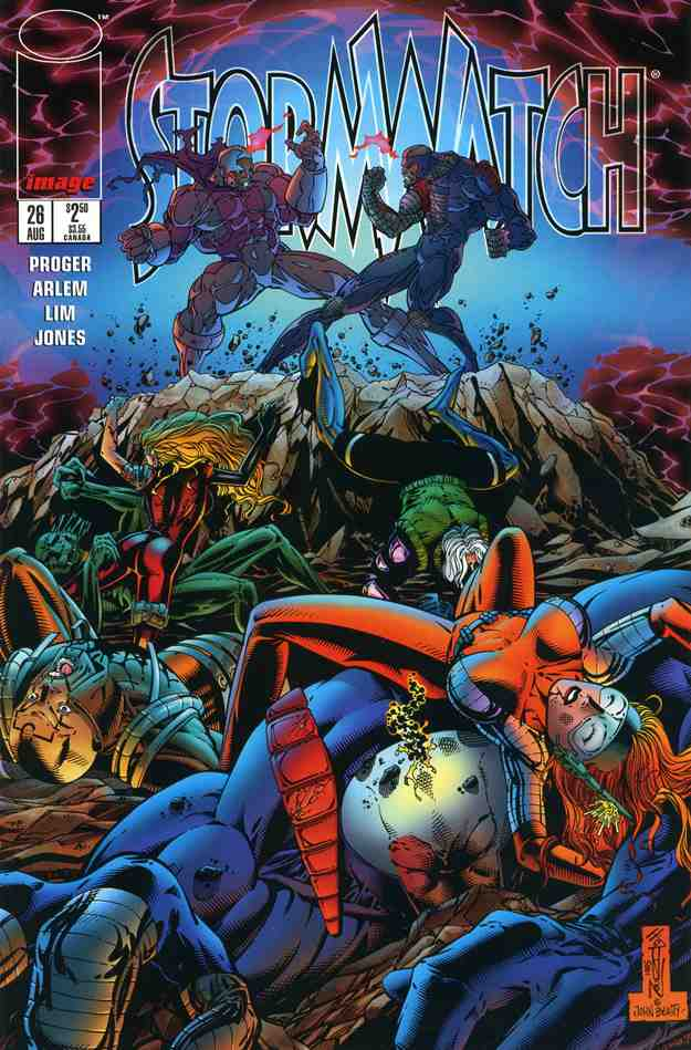 StormWatch comic issue 26