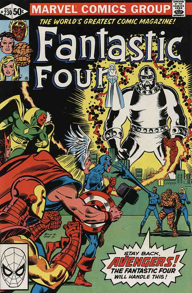 Fantastic Four (Vol. 1) comic issue 230