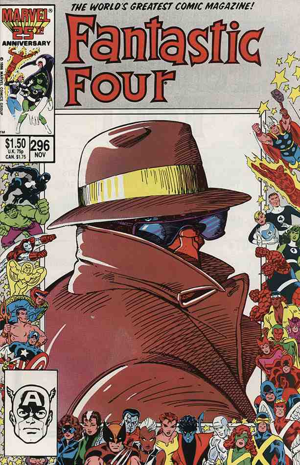 Fantastic Four (Vol. 1) comic issue 296