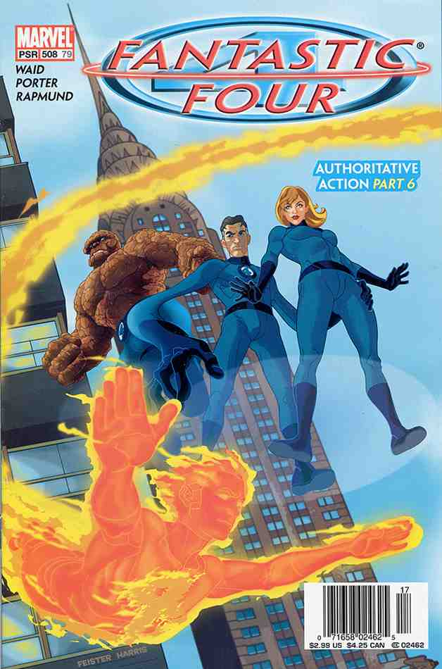 Fantastic Four (Vol. 1) comic issue 508