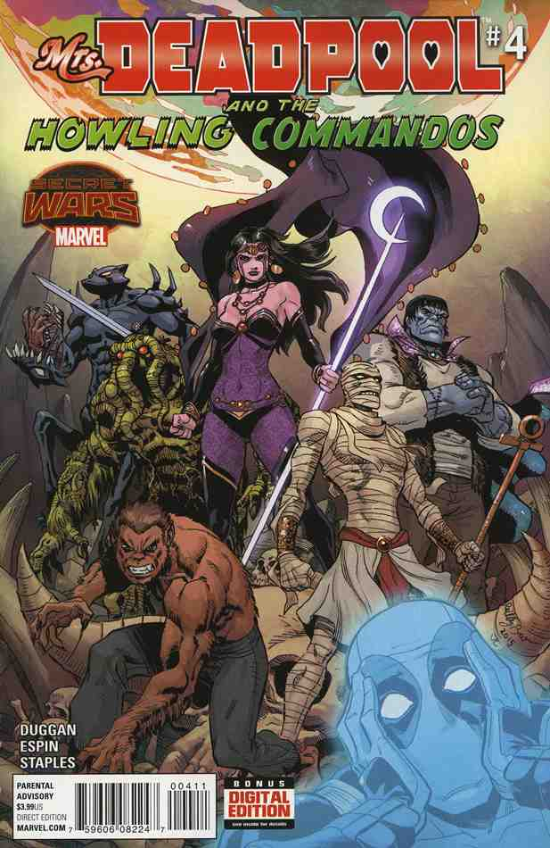 Mrs. Deadpool And the Howling Commandos comic issue 4