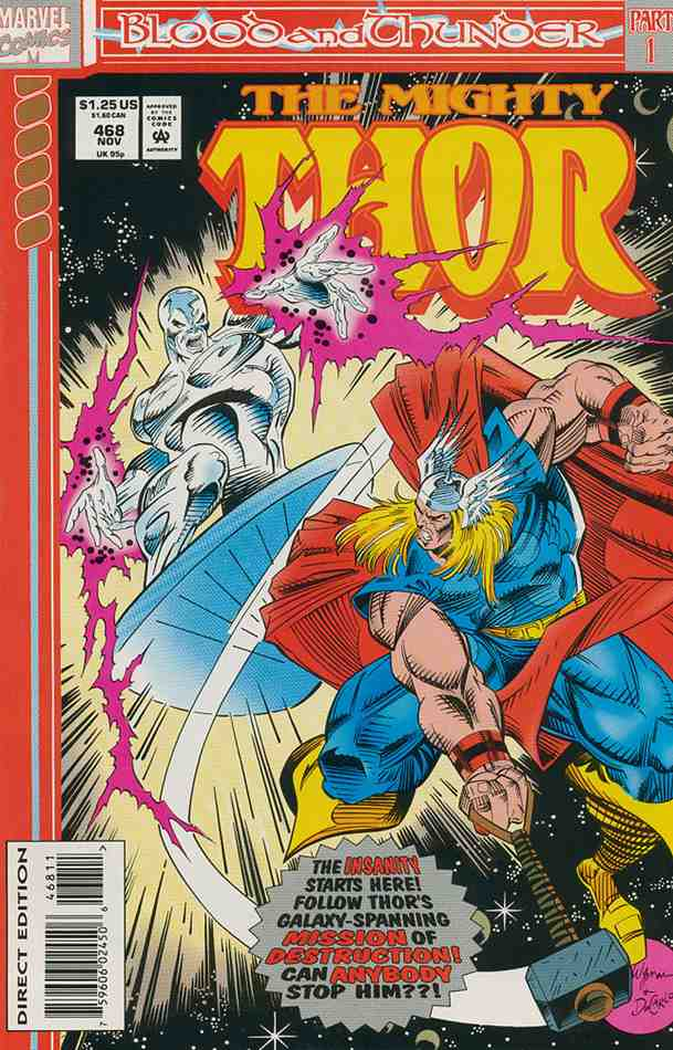 Thor comic issue 468