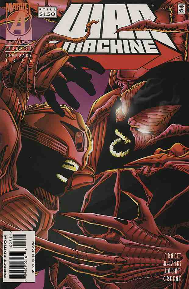 War Machine comic issue 23